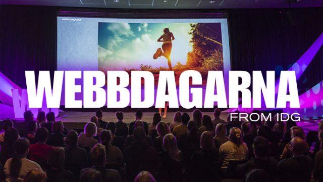 Webbdagarna Göteborg 25–26 september 2019