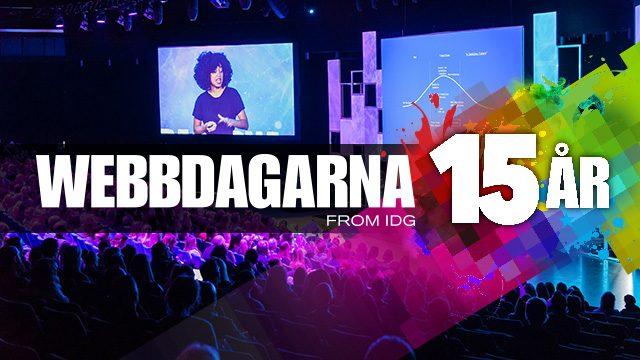 Webbdagarna Stockholm 17-18 mars 2020