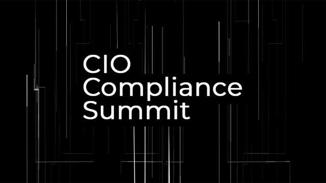 CIO Compliance Summit