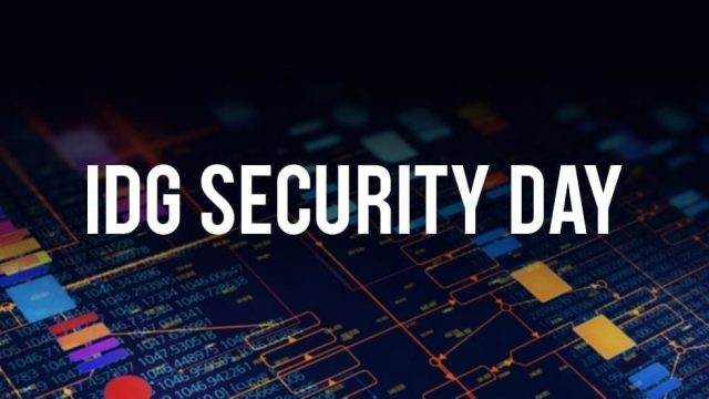 IDG Security Day 2021