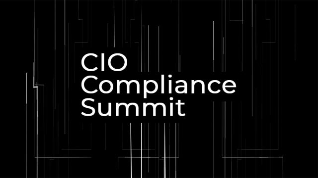 CIO Compliance Summit
